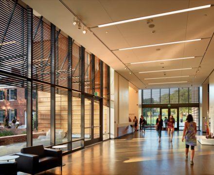 Gregg Museum lobby