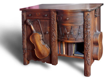 Tilden Stone's music chest