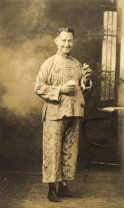 Tilden Stone in Chinese garb