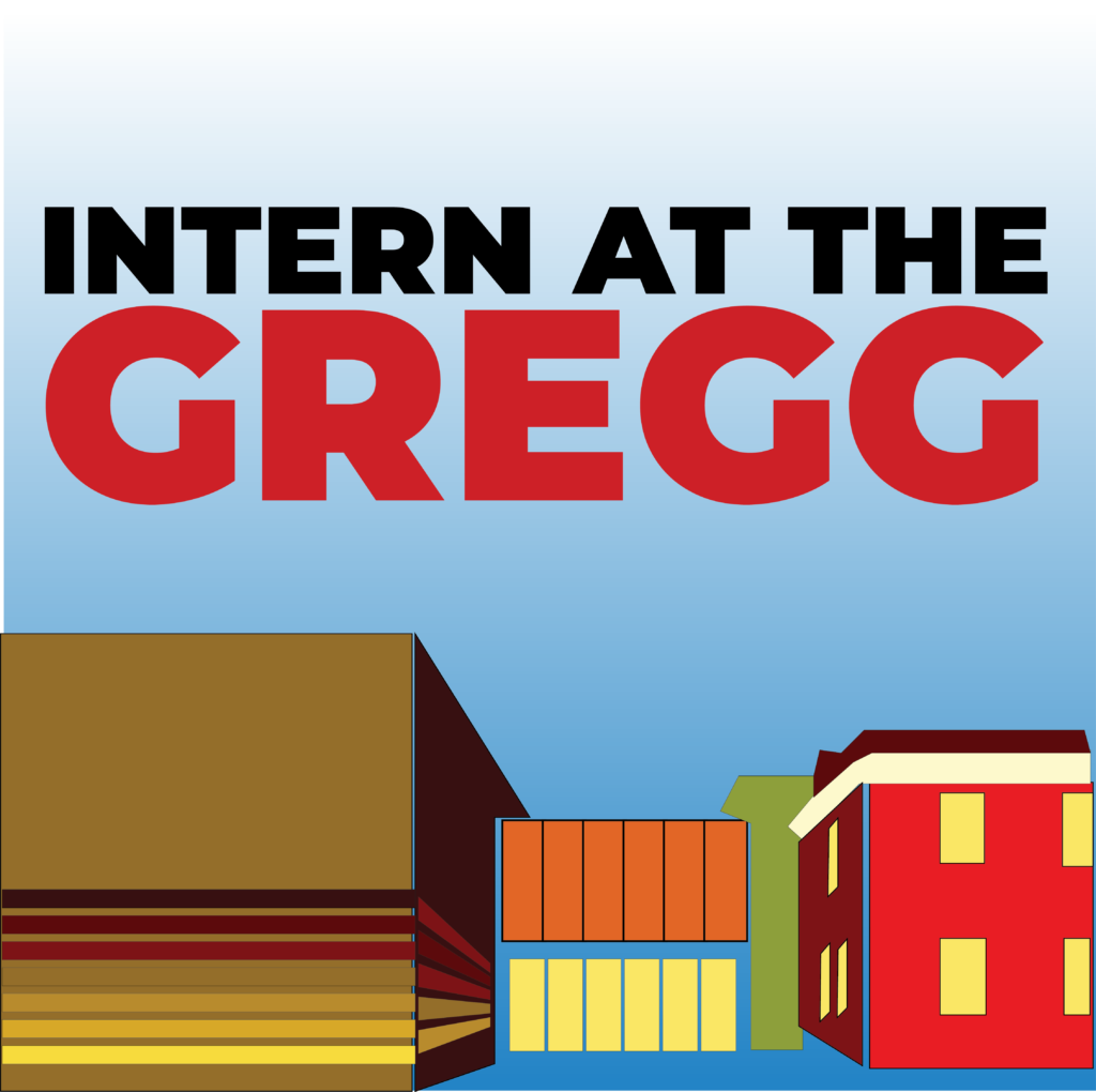 Intern at the Gregg graphic