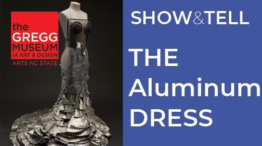 thumbnail image featuring an evening gown made of aluminum