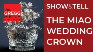 Photo of Chinese wedding crown LEFT and type on the right
