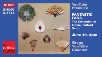 An array of fans from various time periods and cultures